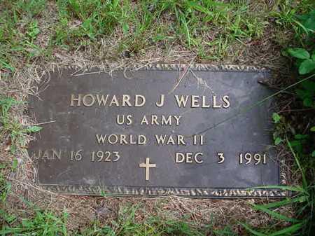 WELLS, HOWARD J - Warren County, New York | HOWARD J WELLS - New York Gravestone Photos