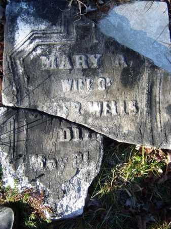 WELLS, MARY A - Warren County, New York   MARY A WELLS - New York Gravestone Photos