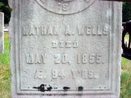WELLS, NATHAN ARIAL - Warren County, New York | NATHAN ARIAL WELLS - New York Gravestone Photos