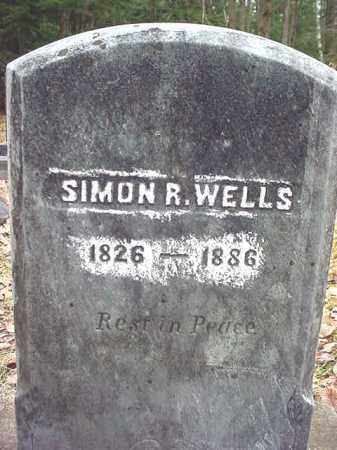 WELLS, SIMON R - Warren County, New York | SIMON R WELLS - New York Gravestone Photos