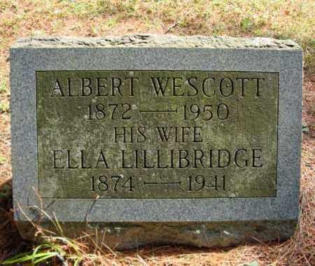 WESCOTT, ELLA - Warren County, New York | ELLA WESCOTT - New York Gravestone Photos