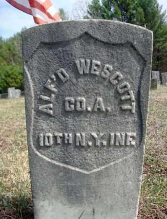 WESCOTT, ALFRED - Warren County, New York | ALFRED WESCOTT - New York Gravestone Photos
