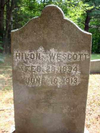 WESCOTT, HILON - Warren County, New York   HILON WESCOTT - New York Gravestone Photos