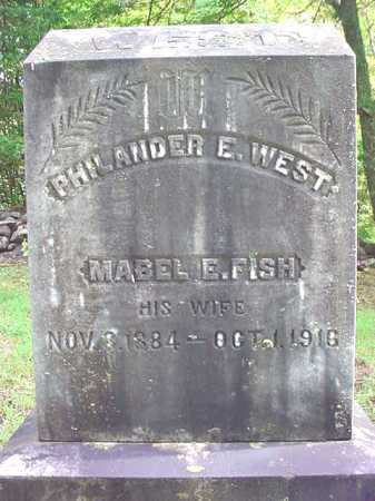 WEST, PHILANDER E - Warren County, New York | PHILANDER E WEST - New York Gravestone Photos