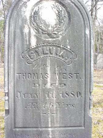 WEST, SYLVIA - Warren County, New York | SYLVIA WEST - New York Gravestone Photos