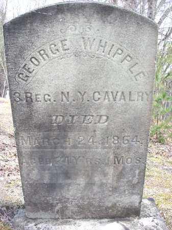 WHIPPLE (CW), GEORGE - Warren County, New York | GEORGE WHIPPLE (CW) - New York Gravestone Photos
