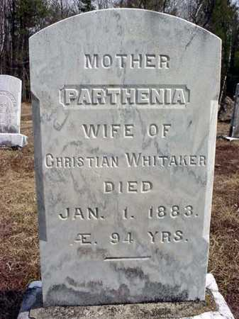 BOYD WHITAKER, PARTHENIA - Warren County, New York | PARTHENIA BOYD WHITAKER - New York Gravestone Photos