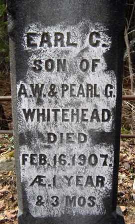 WHITEHEAD, EARL C - Warren County, New York | EARL C WHITEHEAD - New York Gravestone Photos