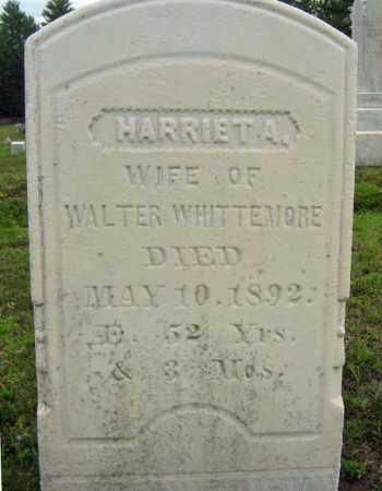 WHITTEMORE, HARRIET A - Warren County, New York | HARRIET A WHITTEMORE - New York Gravestone Photos