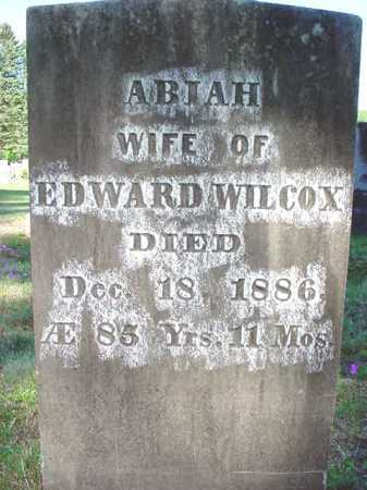 WILCOX, ABIAH - Warren County, New York | ABIAH WILCOX - New York Gravestone Photos