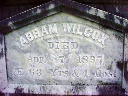 WILCOX, ABRAM - Warren County, New York | ABRAM WILCOX - New York Gravestone Photos