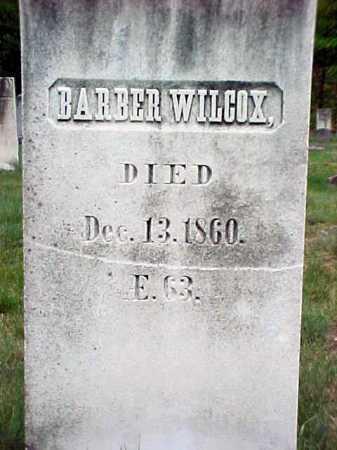 WILCOX, BARBER - Warren County, New York | BARBER WILCOX - New York Gravestone Photos