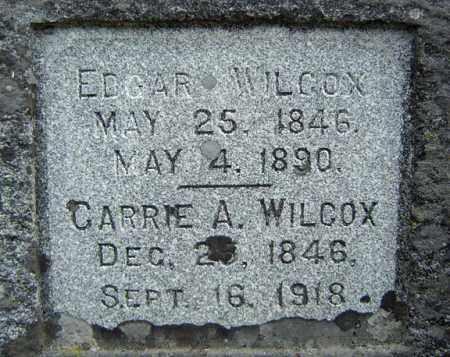 WILCOX, CARRIE A - Warren County, New York | CARRIE A WILCOX - New York Gravestone Photos
