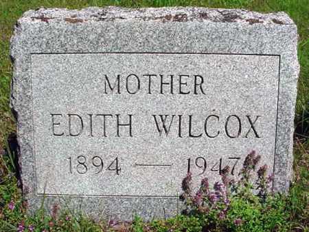 WILCOX, EDITH - Warren County, New York | EDITH WILCOX - New York Gravestone Photos