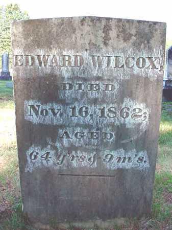 WILCOX, EDWARD - Warren County, New York | EDWARD WILCOX - New York Gravestone Photos