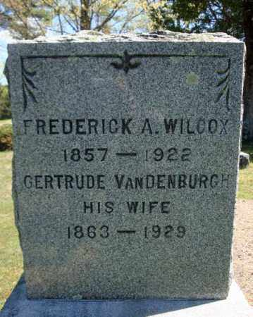 WILCOX, GERTRUDE - Warren County, New York | GERTRUDE WILCOX - New York Gravestone Photos