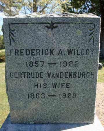 WILCOX, FREDERICK A - Warren County, New York | FREDERICK A WILCOX - New York Gravestone Photos