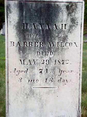 WILCOX, HANNAH - Warren County, New York | HANNAH WILCOX - New York Gravestone Photos