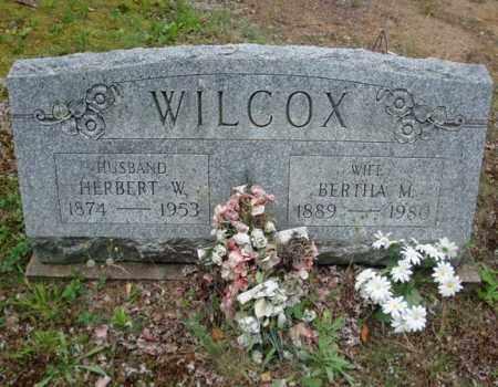 WILCOX, BERTHA M - Warren County, New York | BERTHA M WILCOX - New York Gravestone Photos