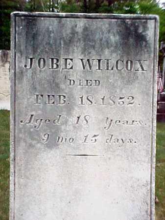 WILCOX, JOBE - Warren County, New York   JOBE WILCOX - New York Gravestone Photos