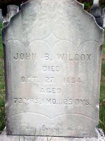 WILCOX, JOHN B - Warren County, New York | JOHN B WILCOX - New York Gravestone Photos