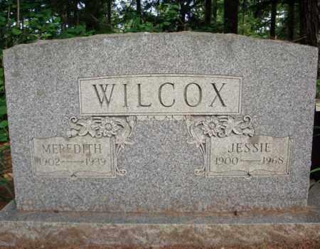 WILCOX, JESSIE - Warren County, New York | JESSIE WILCOX - New York Gravestone Photos