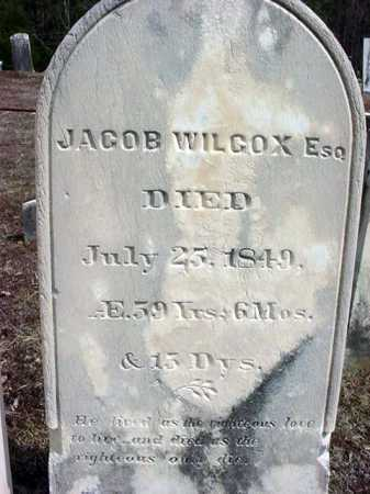 WILCOX, JACOB - Warren County, New York | JACOB WILCOX - New York Gravestone Photos