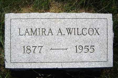 WILCOX, LAMIRA A - Warren County, New York | LAMIRA A WILCOX - New York Gravestone Photos