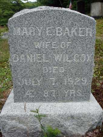 WILCOX, MARY E - Warren County, New York | MARY E WILCOX - New York Gravestone Photos
