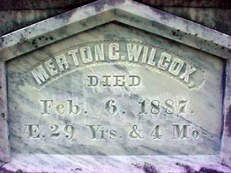 WILCOX, MERTON C - Warren County, New York | MERTON C WILCOX - New York Gravestone Photos
