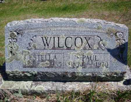 WILCOX, ESTELLA - Warren County, New York | ESTELLA WILCOX - New York Gravestone Photos