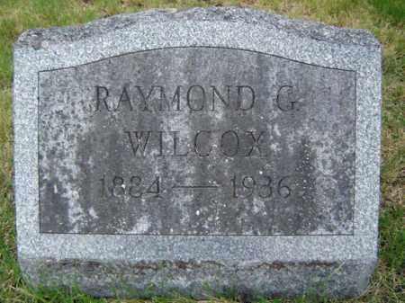 WILCOX, RAYMOND G - Warren County, New York | RAYMOND G WILCOX - New York Gravestone Photos