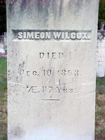 WILCOX, SIMEON - Warren County, New York | SIMEON WILCOX - New York Gravestone Photos
