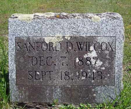 WILCOX, SANFORD D - Warren County, New York | SANFORD D WILCOX - New York Gravestone Photos