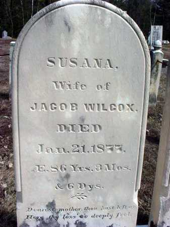 WILCOX, SUSANA - Warren County, New York | SUSANA WILCOX - New York Gravestone Photos