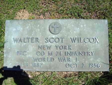 WILCOX, WALTER SCOT - Warren County, New York | WALTER SCOT WILCOX - New York Gravestone Photos