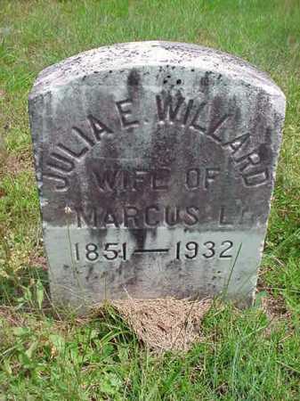 WILLARD, JULIA E - Warren County, New York | JULIA E WILLARD - New York Gravestone Photos