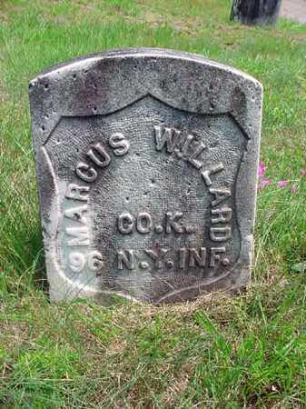WILLARD, MARCUS - Warren County, New York | MARCUS WILLARD - New York Gravestone Photos