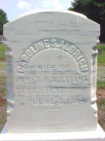 WILLIAMS, CAROLINE S - Warren County, New York | CAROLINE S WILLIAMS - New York Gravestone Photos
