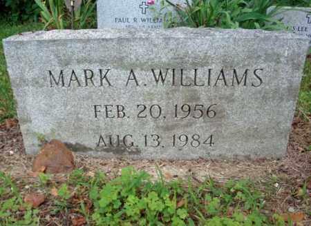 WILLIAMS, MARK A - Warren County, New York   MARK A WILLIAMS - New York Gravestone Photos