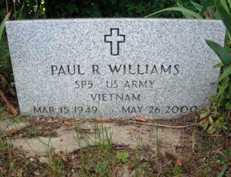 WILLIAMS, PAUL R - Warren County, New York | PAUL R WILLIAMS - New York Gravestone Photos