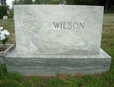 WILSON, BEATRICE - Warren County, New York | BEATRICE WILSON - New York Gravestone Photos