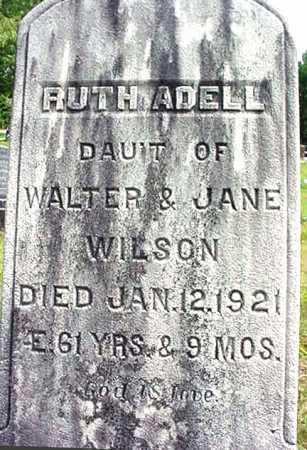 WILSON, RUTH ADELL - Warren County, New York | RUTH ADELL WILSON - New York Gravestone Photos