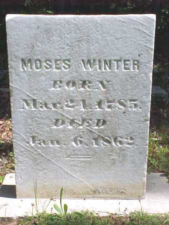 WINTER, MOSES - Warren County, New York | MOSES WINTER - New York Gravestone Photos
