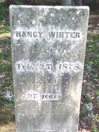 WINTER, NANCY - Warren County, New York | NANCY WINTER - New York Gravestone Photos