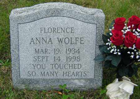 WOLFE, FLORENCE ANNA - Warren County, New York | FLORENCE ANNA WOLFE - New York Gravestone Photos