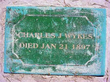 WYKES, CHARLES J - Warren County, New York | CHARLES J WYKES - New York Gravestone Photos