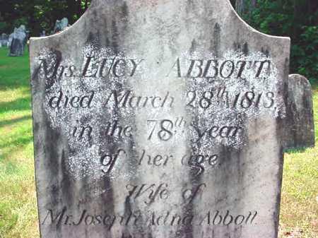 ABBOTT, LUCY - Washington County, New York | LUCY ABBOTT - New York Gravestone Photos
