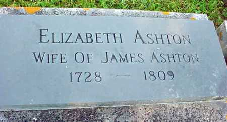 ASHTON, ELIZABETH - Washington County, New York | ELIZABETH ASHTON - New York Gravestone Photos