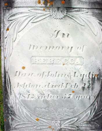 ASHTON, REBECCA - Washington County, New York | REBECCA ASHTON - New York Gravestone Photos